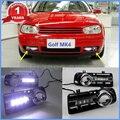 2 PC LED Para VW Golf 4 1998 1999 2000 2001 2002 2003 2004 2005 Novo LED DRL Daytime Running Luz À Prova D' Água Com Fio De arnês