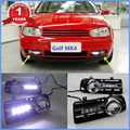 2PC LED For VW Golf 4 1998 1999 2000 2001 2002 2003 2004 2005 New LED DRL Daytime Running Light Waterproof With Wire Of Harness