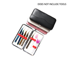 PU Leather Dustproof Protective font b Case b font Eyelash Tweezer Travel Storage font b Bag