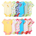 Newborn 5pcs/lot Baby Boy Girl Clothes Short Sleeve Summer Body Baby Romper Jumpsuits & Rompers Infant Product