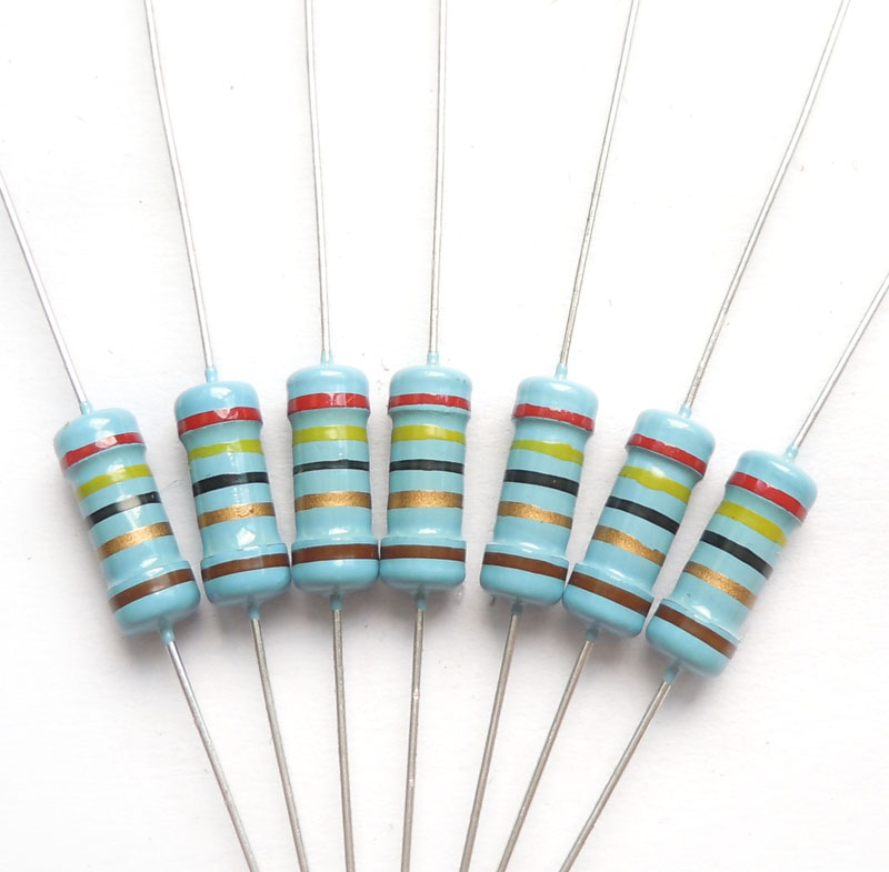 1w 24 ohm 24R ohm 100% original brand new Fixed resistor Metal Film Resistors Resistance +- 1% (200pcs)