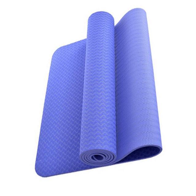 carrefour 6mm de yoga en plein air tapis ecologique mince couverture tapis plage mandala pad sport pilates fitness pliable de non glissement matelas