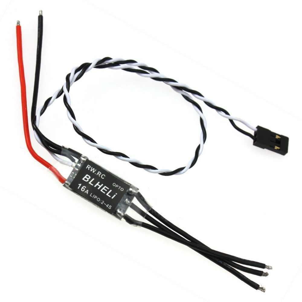 ¡F16816/18 RW! RC V14.2 versión BLHeli programa dispositivos optoelectrónicos mini 16A/20A/30A ESC para Multirotor 250 FPV carrera DIY