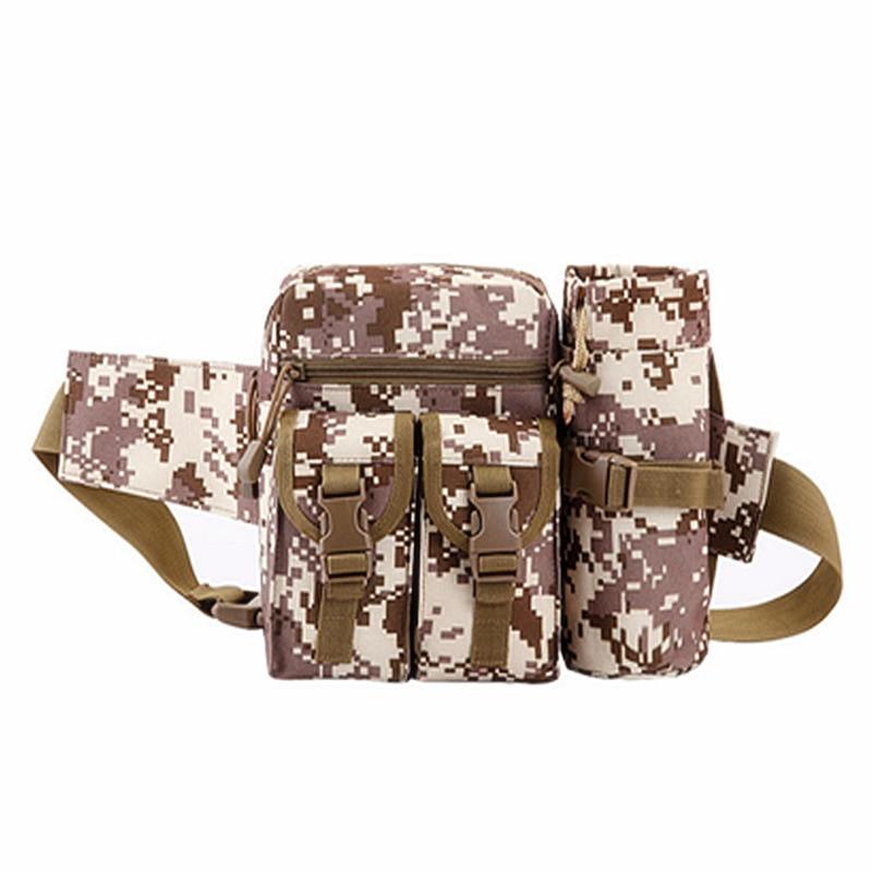 Prix pour Hommes Camouflage Tactique Taille Sac Professionnel En Plein Air Trekking Et Randonnée Sac Nouveau Militaire Taille Sac Chaude Molle Escalade Sac