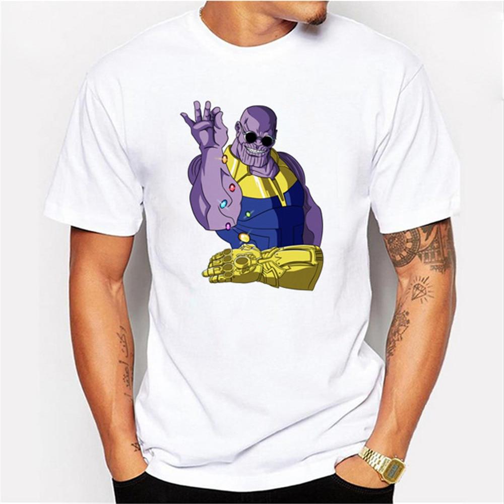 Avengers 3 Infinity War T Shirt Avenger Thanos iron man 3D T-shirt Costume Cosplay hero Fashion Streetwear Tee Shirt