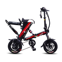 ENGWE 2018 MINI bike Folding Electric Bike 48V12A Lithium Battery 12inch 350V V Motor Electric Bicycle Scooter e bike