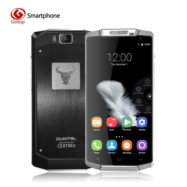Оригинальный Oukitel K10000 Android 5.1 Смартфон 10000мАч Батарея cупер-большой емкости Мобильный телефон 5.5 дюйма 720P 13Мп камера Сотовый телефон
