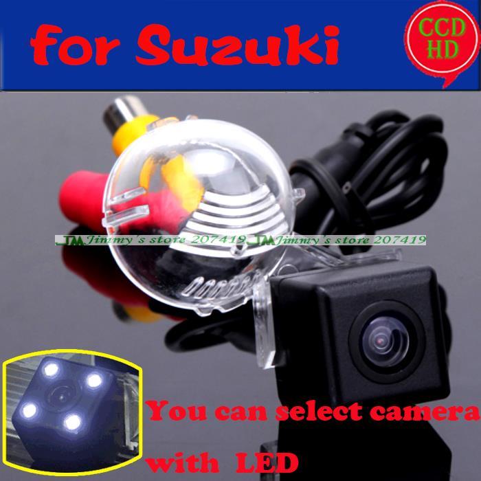 imágenes para Para sony ccd leds cámara de estacionamiento del coche para suzuki grand Vitara/Suzuki SX4 Hatchback Posterior del coche Cámara de Marcha Atrás de Copia de seguridad de alambre inalámbrica