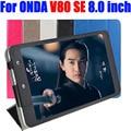 For ONDA V80 SE 8.0 inch Case Luxury PU Leather Flip cover tablet pc Stand Case For ONDA V80 SE OD03