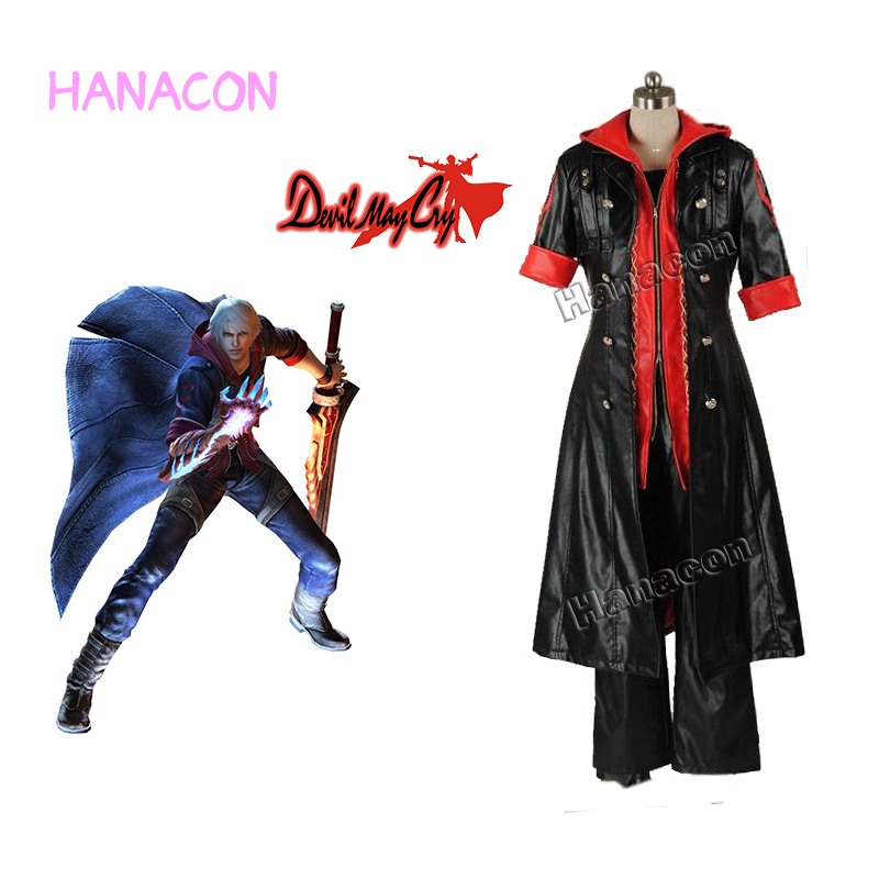 Devil May Cry V Nero Cosplay Costume Nero Custom Costume Halloween Costume