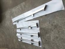 Freeshipping 850 мм 304 из нержавеющей стали для внутреннего бассейны квадратных with square glass holders and flat top держатель
