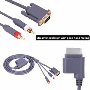 Image 3 - 1.8M HD AV connecteur Audio vidéo câble VGA 2RCA convertisseur câble pour Xbox X   360