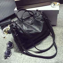 Large crossbody handbag motorcycle messenger pu vintage shoulder waterproof leather fashion