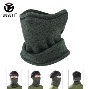 JIUSUYI Headband Winter Wool Neck Warmer Scarf Hood Bandana