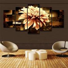 5 шт настенные постеры с изображением георских цветов