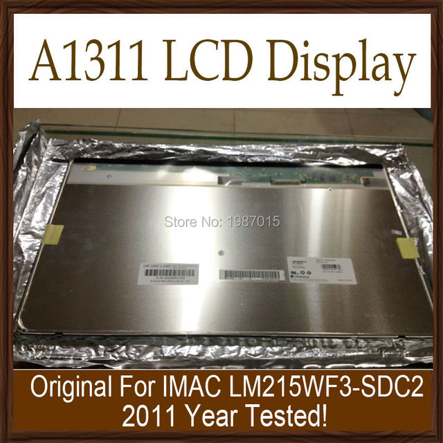 Новый A1311 LM215WF3-SDC2 ЖК-Дисплей Для Apple iMac 21.5 ''ЖК-Экран 2011 Год Испытания