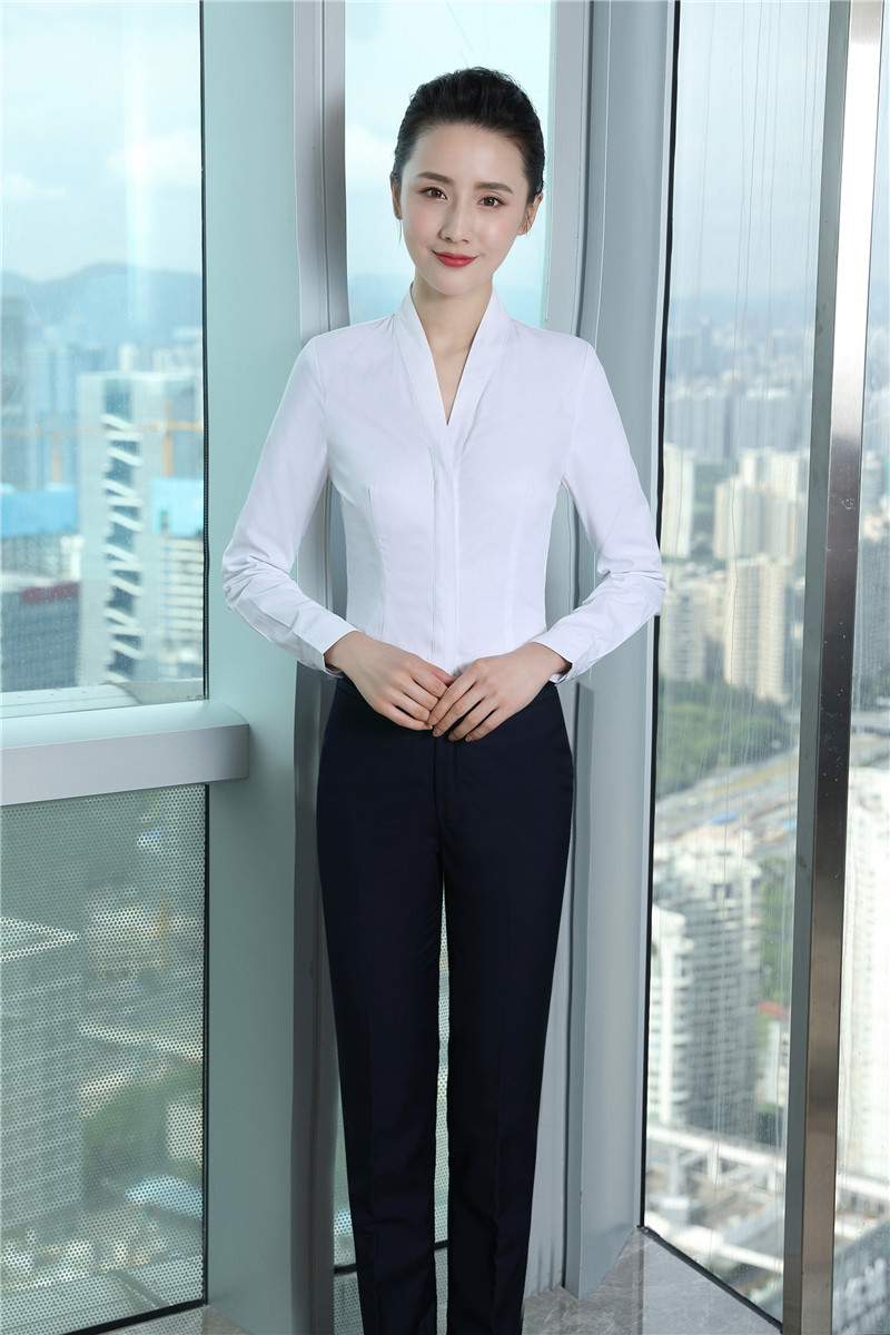 Elegant White Slim Formal Pantsuits With 2 Piece Tops And Pants For ...