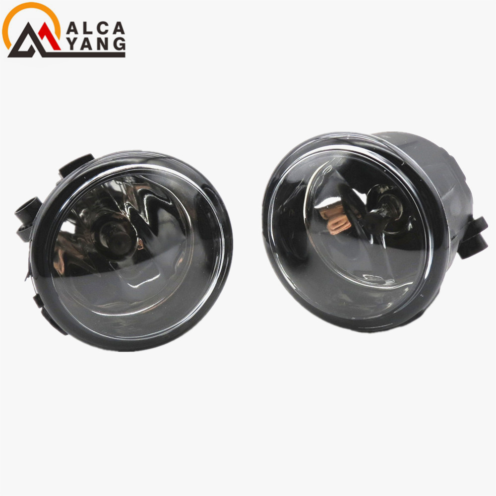 Malcayang 1set Car styling Fog lights halogen lamps Angel Eyes For NISSAN JUKE 2010+2015 Infiniti FX35 2006-2012 malcayang fog lights for polo 12v 55w h11 1 set car styling halogen for lexus rx350 awd 2009 2013