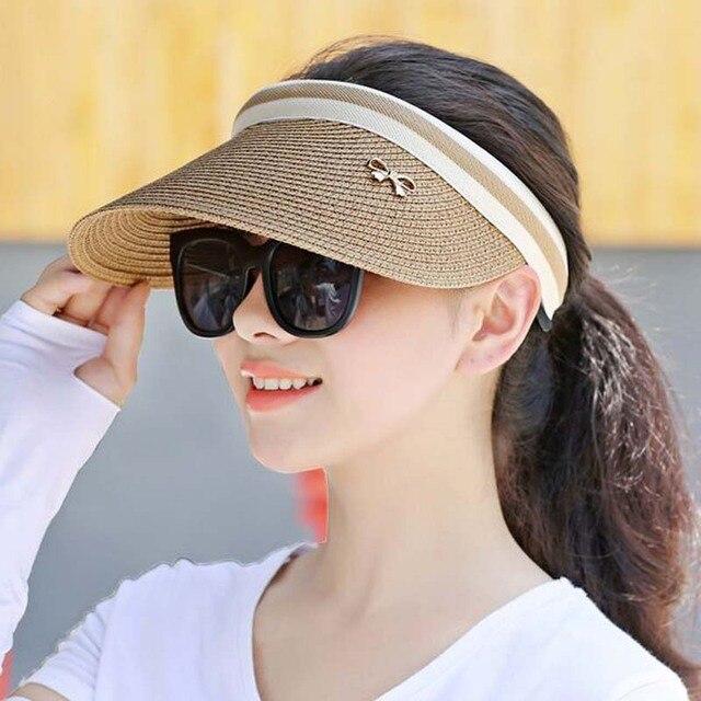 Arco lindo sombrero de sol mujeres topless playa del borde ancho del  casquillo del visera de. Sitúa el cursor encima para ... 65e914c2791