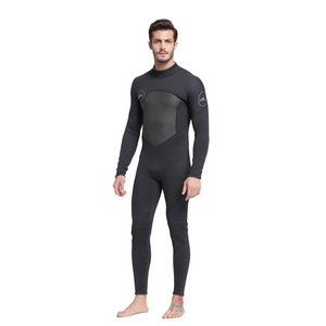 Image 3 - 남자 5mm 블랙/그레이 잠수복 스쿠버 다이빙 서핑 Fullsuit 점프 슈트 잠수복 네오프렌 잠수복 남자 5 밀리미터