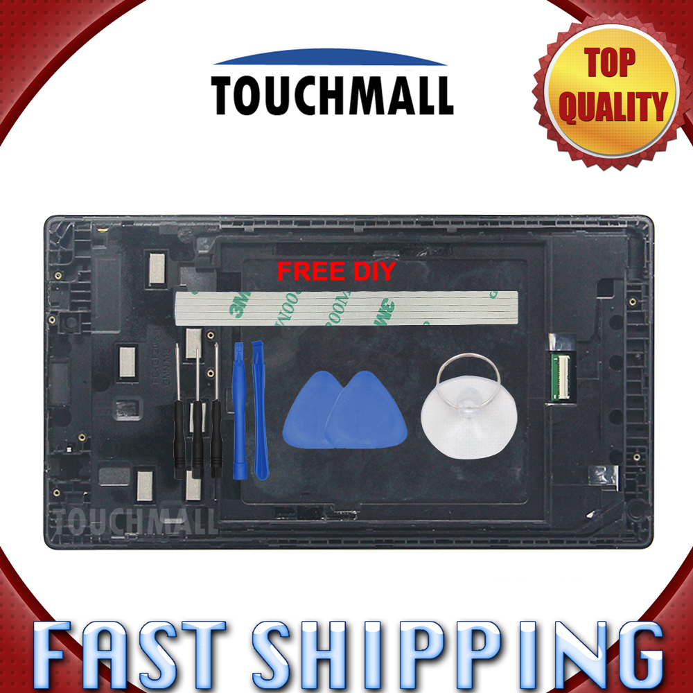 Tablet Accessories Just New Lcd Display Touch Screen With Frame Assembly Replacement For Lenovo Tab 2 A7-30 A7-30dc A7-30hc A7-30tc Tools Tablet Lcds & Panels