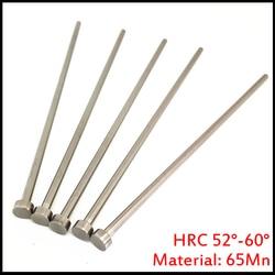 9mm OD 9*100/150/200 9x100/150/200 65Mn HRC60 okrągły końcówka wtrysku tworzyw sztucznych części formy prosto wykrawania kołek wypychacza w Szpilki od Majsterkowanie na