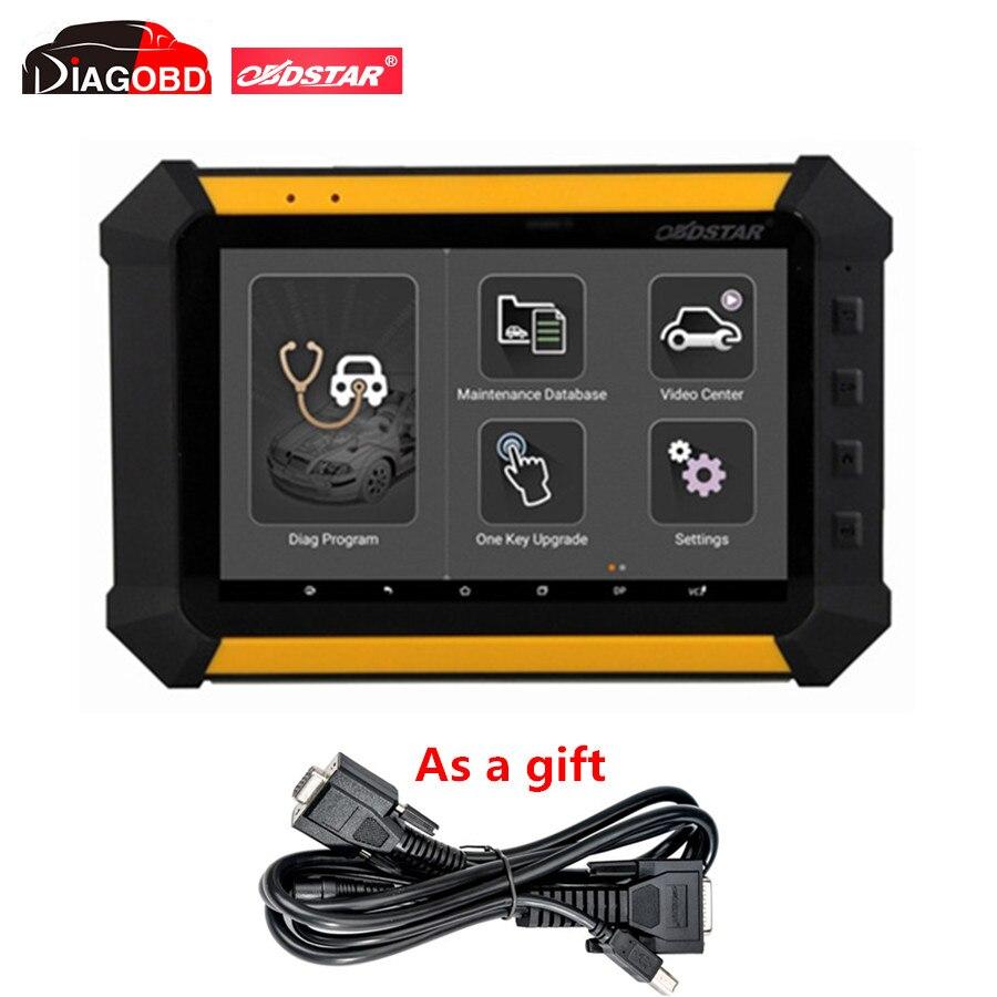 Prix pour OBDSTAR X300 DP X-300DP PAD Tablet Programmeur principal Configuration Complète X300DP PAD Peut obtenir une Livraison Câble Principal Test
