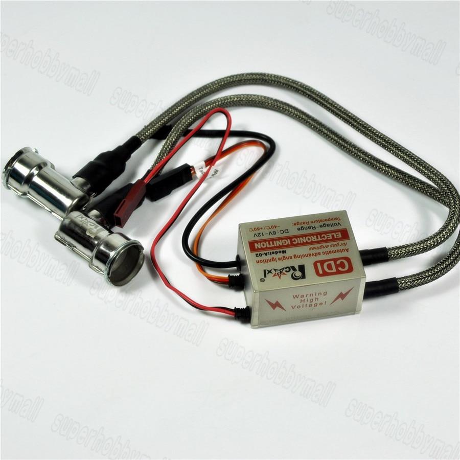 2053322b 1pc Rcexl NGK BMR6A-14MM 90 Degree Twin Ignition For Spark Plug +Universal  Sensor Bracket
