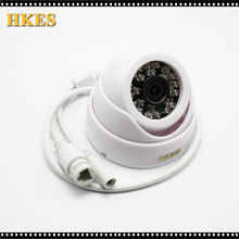 HKES 4pcs/lot Dome IP Camera Home Security Camera 720P Night Vision Infrared Network Indoor CCTV Cam