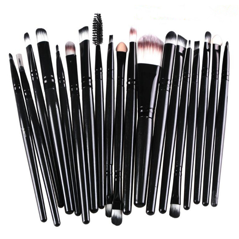 Professional Makeup Brush Set 20PCS/Set High Quality Makeup Tools Kit Eyebrow Brush Foundation Powder Cosmetic Tool Beauty 147 pcs portable professional watch repair tool kit set solid hammer spring bar remover watchmaker tools watch adjustment