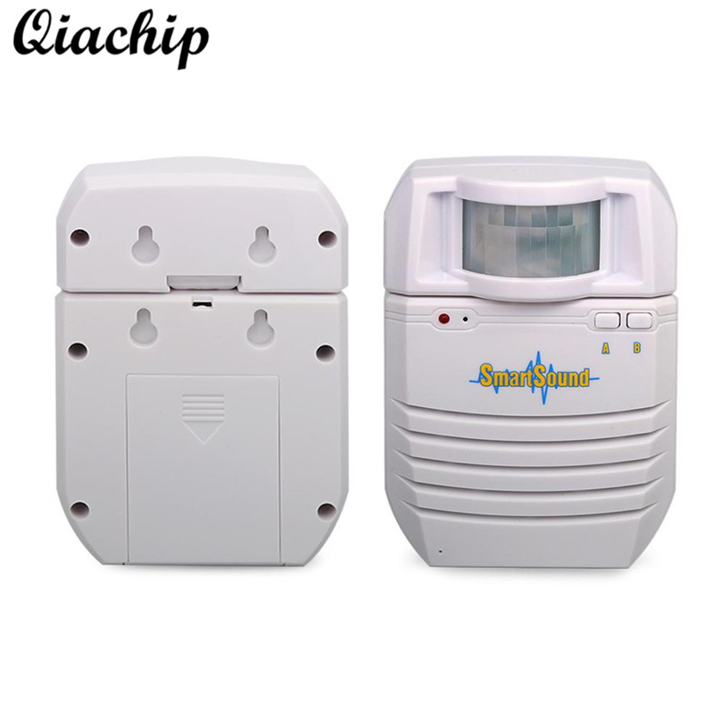 все цены на QIACHIP US Smart Home Security Alarm Support Memory Extension Battery Powered Wireless Infrared Motion Detector MP3 Audio Player онлайн