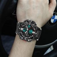 SANDA G Fashion Wrist Watch Men Waterproof LED Sport Military Watch Shock Resistant Men S Analog