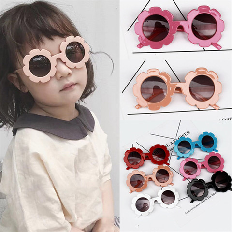 Sun Flower Sun Glasses Kids Sunglasses Baby Children Sunglasses UV400 Sunglasses Girls Boys Oculos De Sol Eyewear Accessories Lahore