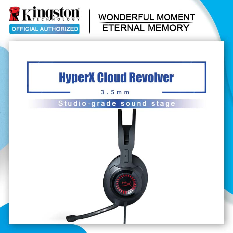 Kingston HyperX Cloud Revolver Gaming Headset Black Headphones With microphone for PC, Xbox One, Xbox One S, PS4, PS4 Pro, Mac-in Headphone/Headset from Consumer Electronics    1