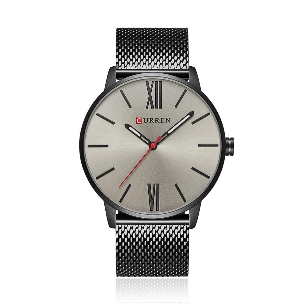 2018 CURREN Brand Watch Ерлер сәнді сәнді бизнес - Ерлердің сағаттары - фото 5