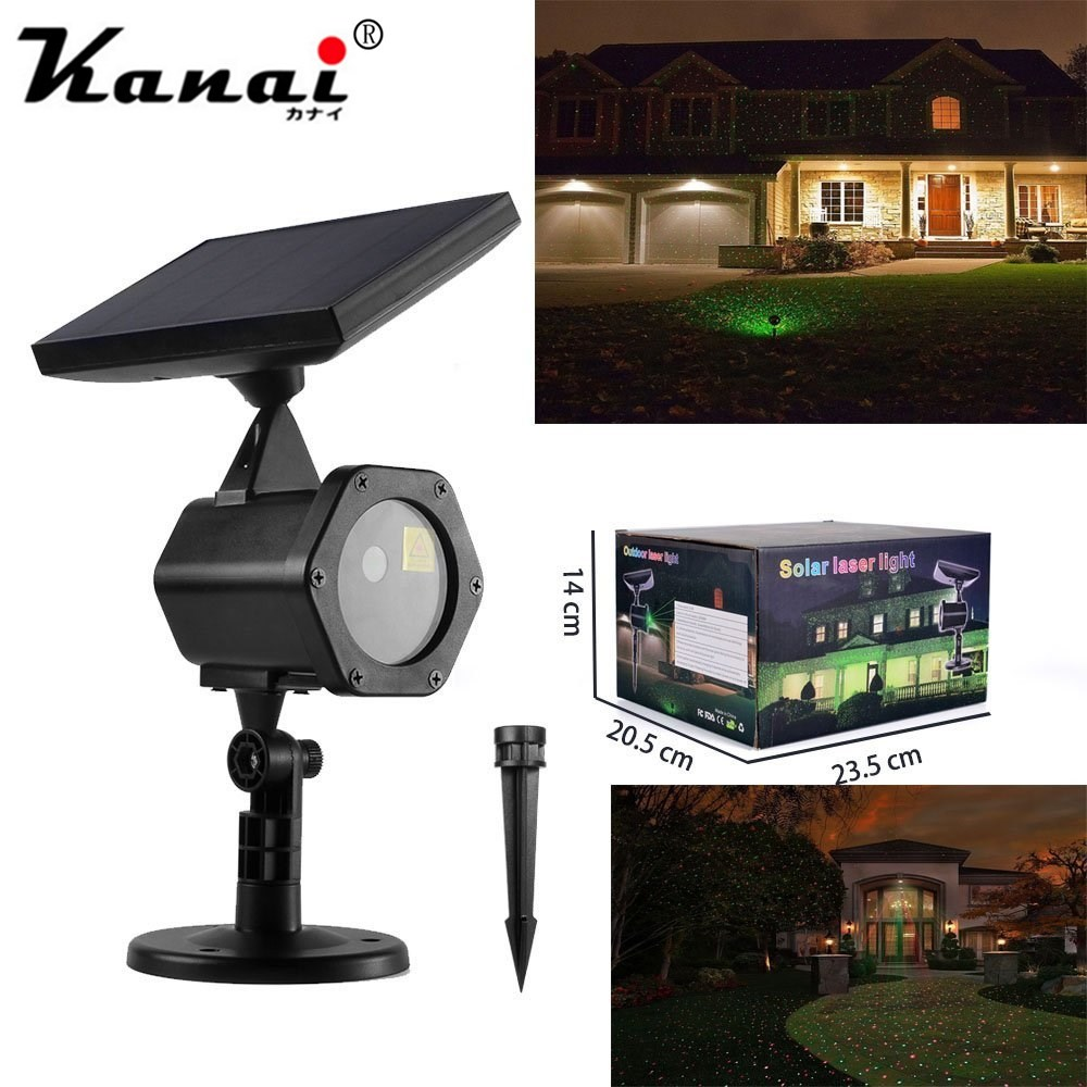 6W LED Solar landscape lighting XL H11 Star Projectors lawn Decorative Lighting Laser lights solar Christmas