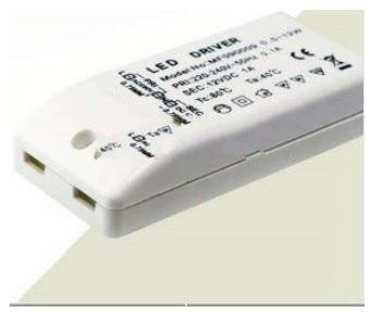 lowest price FAST FREE SHIPPING 100X LED bulb Driver Transformer DC 12V 0.5w-12w 220-240V
