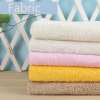 Fabric Cotton Velvet Polyester Short Fur Plush For Handmade Sewing Material Needlework DIY Craft Quilt Cover