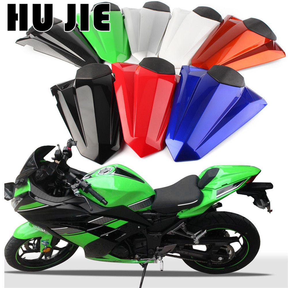 Motorcycle ABS Rear Seat Cover Cowl For Kawasaki <font><b>Ninja</b></font> <font><b>300</b></font> R Z250 EX300 ex300 2013-2016 EX EX300R 2014 <font><b>2015</b></font> image