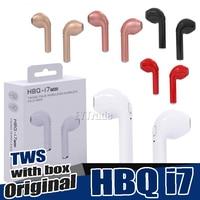 10PCS Lot Original HBQ I7 TWS Twins True Wireless Earbuds Earphone Mini Bluetooth V4 2 DER