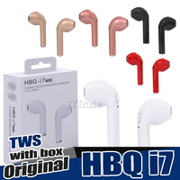10PCS Lot Original HBQ I7 TWS Twins True Wireless Earbuds Earphone Mini Bluetooth V4 2 DER