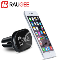 Raugee pop socket Mobile Phone styling Holder Magnetic Air Vent Mount GPS Stand for iphone 6 7 Plus Oneplus 3T Redmi Note 4 X