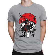 Personality Pictures T Shirt 2018 Uciha Itachi Naruto T-Shirt For Mens Building Quirky Tshirt Cotton Tee Gift