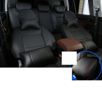 Lsrtw2017 Luxury Durable Fiber Leather Car Breathable Seat Mat for Trumpchi Gs8 2017 2018 2019 2020