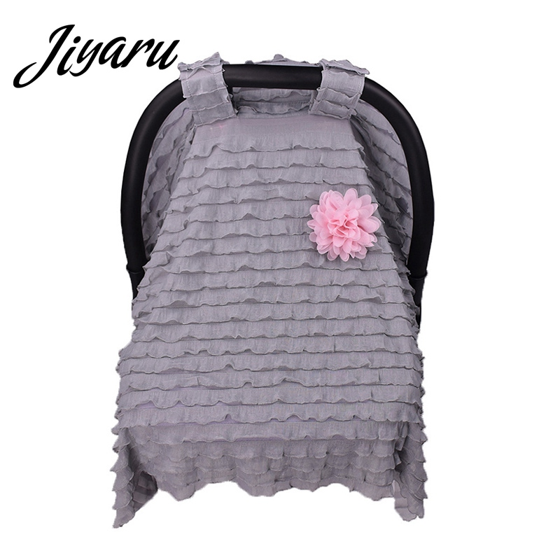 Nursing Cover Scarf for Mum Shopping Cart Breastfeeding Baby Car Seat Canopy Cover Scarf Infant Car Seat Cover for Stroller