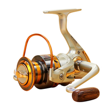 Yumoshi 12BB Metal Rocker Fishing Reel Feeder Spinning Fishing Reel