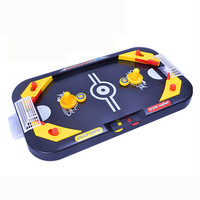 MUQGEW Miniature Hockey Table Game Toy For Children 2 In 1 Soccer Ice Desktop Field Toys