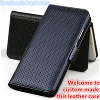 QX03 genuine leather wallet flip case for Samsung Galaxy A7 2017 flip case for Samsung Galaxy A720 phone bag free shipping