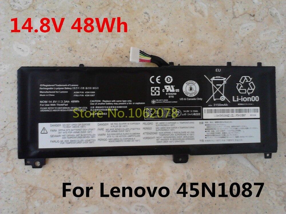 ФОТО 14.8V 48Wh Original Notebook Battery 45N1087 For Lenovo ThinkPad Edge S420 S430 45N1084 45N1085 45N1086 4ICP9/52/61