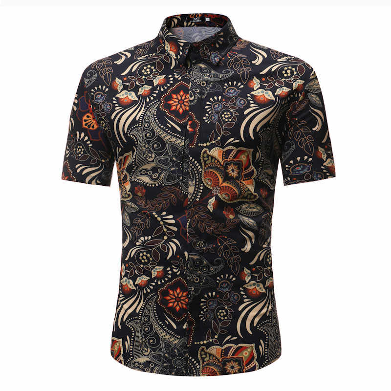Shirt Mens Fashion Shirts Casual Lange Mouwen Gestreept Tops Loose Casual Blouse winter shirts mannen 2019 Nieuwe camiseta masculina